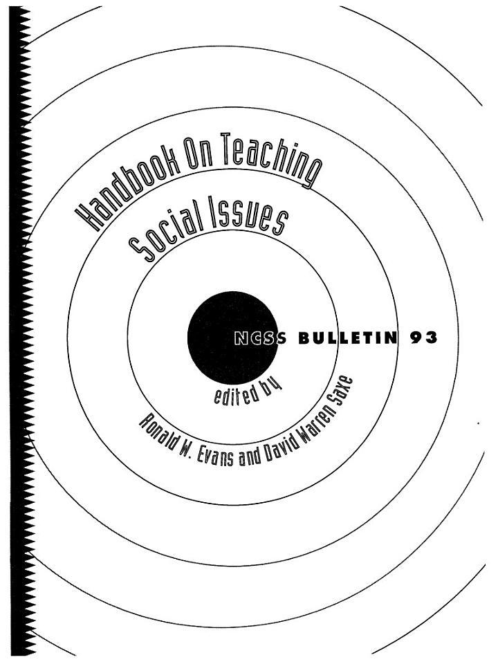 Handbook on Teaching Social Issues