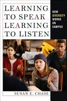 Learning to Speak  Learning to Listen PDF
