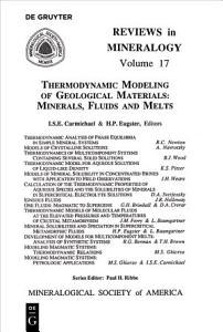 Thermodynamic Modeling of Geologic Materials