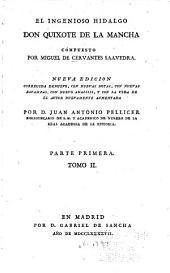 El Ingenioso Hidalgo Don Quixote De La Mancha: Parte 1,Volumen 2