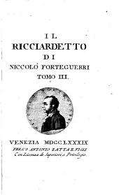 Il Ricciardetto: Volume 3