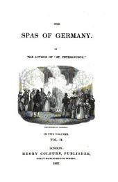 The Spas of Germany: In Two Volumes, Volume 2