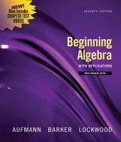 Beginning Algebra with Applications, Multimedia Edition: Edition 7