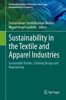 Sustainability in the Textile and Apparel Industries PDF