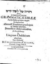 Compendium Grammaticae Ebraeae