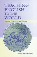 Teaching English to the World PDF