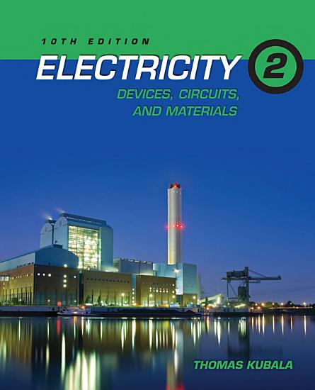 Electricity 2  Devices  Circuits and Materials PDF