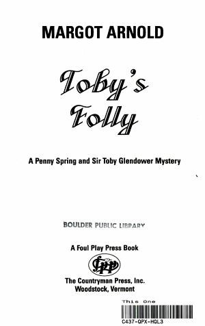 Toby's Folly