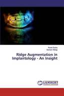 Ridge Augmentation in Implantology   An Insight PDF