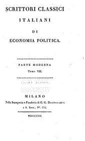 Scrittori classici italiani di economia politica ..