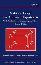 Statistical Design and Analysis of Experiments PDF
