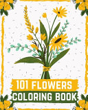 101 Flowers Coloring Book PDF