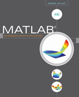 MATLAB  An Introduction with Applications  4th Edition PDF