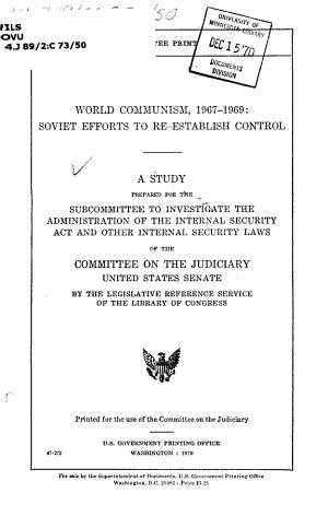 World Communism  1967 1969 PDF