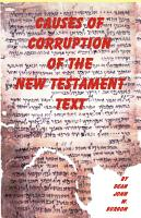 Causes of Corruption of the New Testament Text PDF