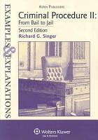 Criminal Procedure II PDF