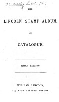 The Lincoln Stamp Album and Catalogue PDF