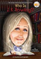 Who Is J K  Rowling  PDF