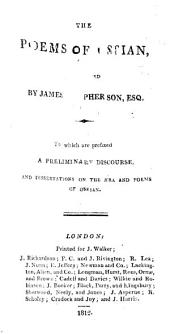 The Poems of Ossian, Translated by James Macpherson, Etc