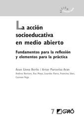 La acción socioeducativa en medio abierto: Fundamentos para la reflexión y elementos para la práctica