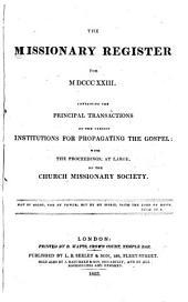 Missionary Register: Volume 11