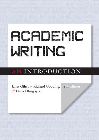 Academic Writing  An Introduction   Fourth Edition PDF