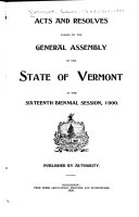 Download Acts and Laws Passed by the Legislature of the State of Vermont Book