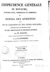 Jurisprudence générale du Royaume