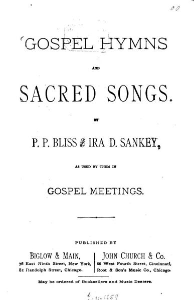 Download Gospel Hymns and Sacred Songs0 Book