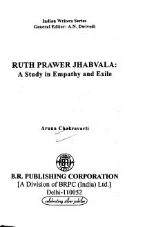 Ruth Prawer Jhabvala PDF