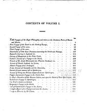 A general collection of the best and most interesting voyages and travels: Volume 1