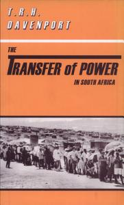 The Transfer of Power in South Africa Book