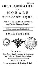 Dictionnaire de morale philosophique