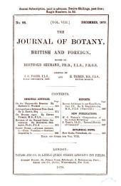 Journal of Botany: British and Foreign, Volume 8