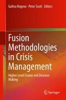 Fusion Methodologies in Crisis Management PDF