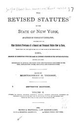 The Revised Statutes of the State of New York PDF