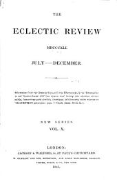 The Eclectic Review: Volume 10; Volume 74