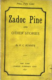 Zadoc Pine: And Other Stories