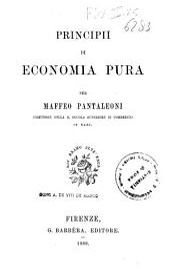 Principii di economia pura