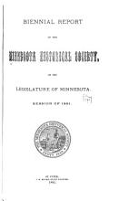 Biennial Report   Minnesota Historical Society PDF