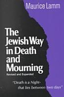 The Jewish Way in Death and Mourning PDF