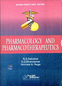 Pharmacology and Pharmacotherapeutics Book
