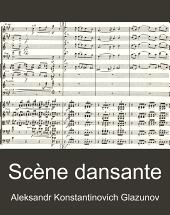 Scene dansante pour grand orchestre, op.81