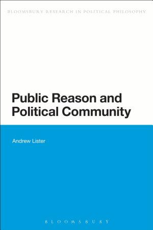 Public Reason and Political Community