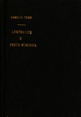 Lymphatite e peste bubonica PDF