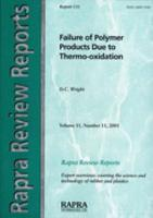 Failure of Polymer Products Due to Thermo oxidation PDF