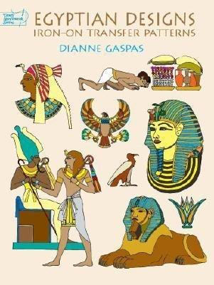 Egyptian Designs Iron On Transfer Patterns