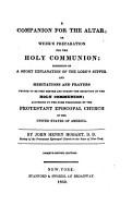 A companion for the altar  or  Week s preparation for the holy communion PDF