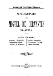 Novelas exemplares