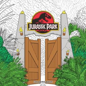 Jurassic Park Adult Coloring Book PDF